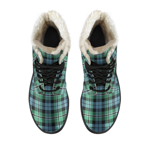 Image of Melville Tartan Boots For Men