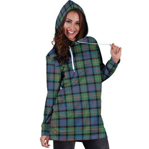 Image of MacDonnell of Glengarry Ancient Tartan Hoodie Dress HJ4