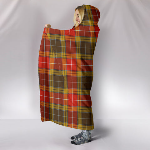 Buchanan Old Set Weathered, hooded blanket, tartan hooded blanket, Scots Tartan, Merry Christmas, cyber Monday, xmas, snow hooded blanket, Scotland tartan, woven blanket