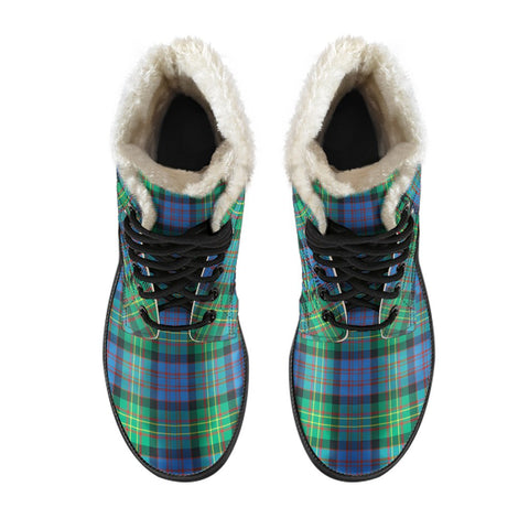 Image of Bowie Ancient Tartan Boots For Men