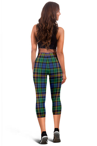 Allison Tartan Capris Leggings