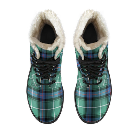 Image of Macdonald Of The Isles Hunting Ancient Tartan Boots For Men