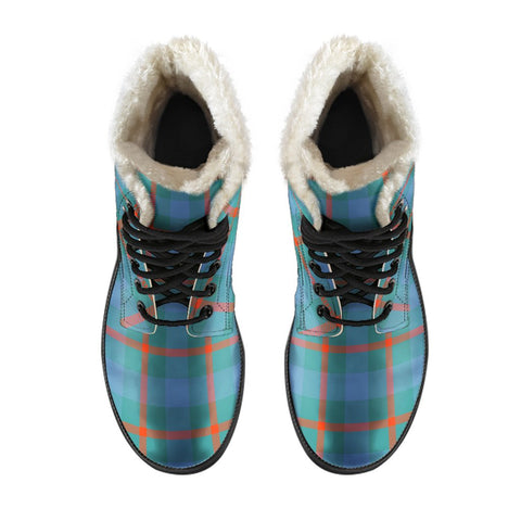 Image of Agnew Ancient Tartan Boots For Men