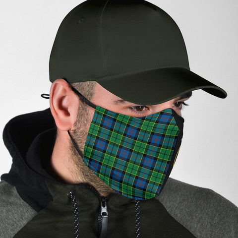 Forsyth Ancient  Tartan Mouth Mask The Half Th88