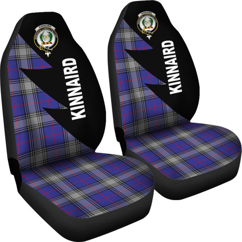 Kinnaird Clans Tartan Car Seat Covers - Flash Style - BN