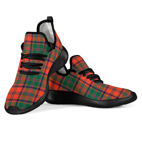 Tartan Mesh Knit Sneakers - Stewart of Appin Ancient