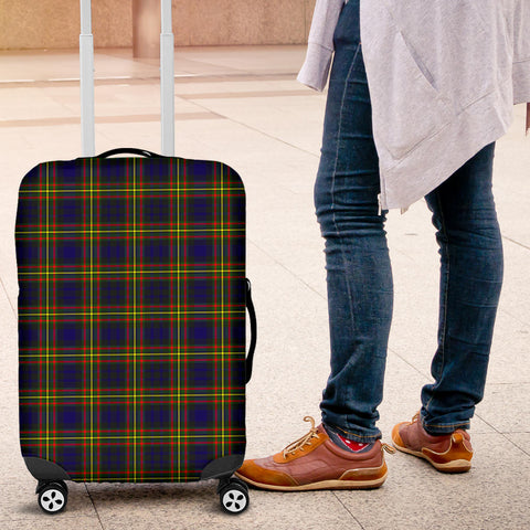Image of MacLellan Modern Tartan Luggage Cover HJ4