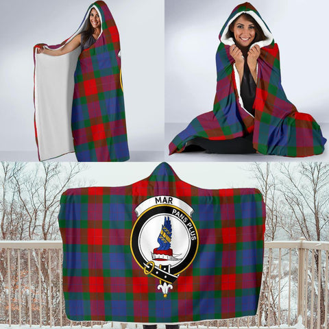 Mar Clans Tartan Hooded Blanket - BN