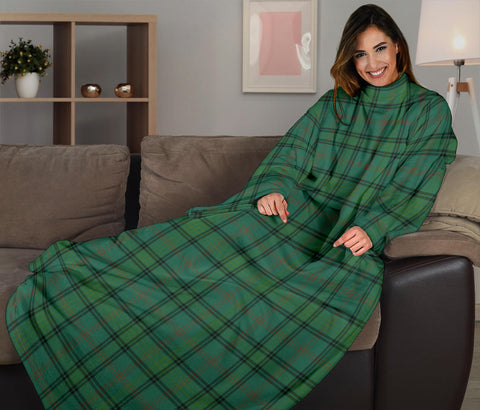 Image of Ross Hunting Ancient Tartan Clans Sleeve Blanket K6