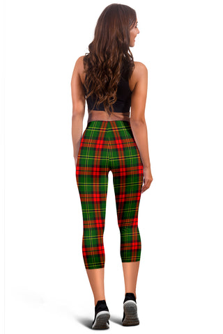 Blackstock Tartan Capris Leggings