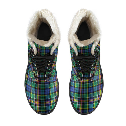 Image of Allison Tartan Boots For Men
