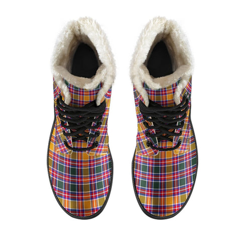 Jacobite Tartan Boots For Men