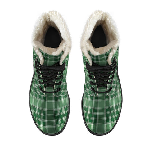 Macdonald Lord Of The Isles Hunting Tartan Boots For Men