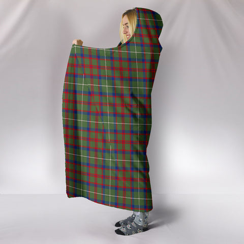 Shaw Green Modern, hooded blanket, tartan hooded blanket, Scots Tartan, Merry Christmas, cyber Monday, xmas, snow hooded blanket, Scotland tartan, woven blanket