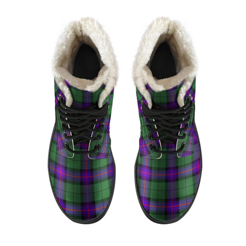 Image of Armstrong Modern Tartan Boots For Men