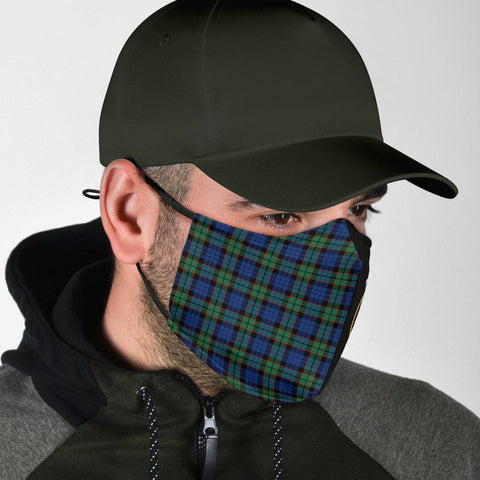 Fletcher Ancient  Tartan Mouth Mask The Half Th88
