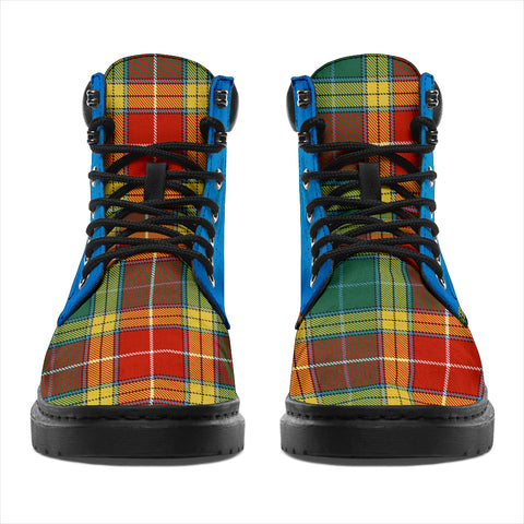 Image of Buchanan Old Sett Tartan All-Season Boots - Celtic Thistle TH8