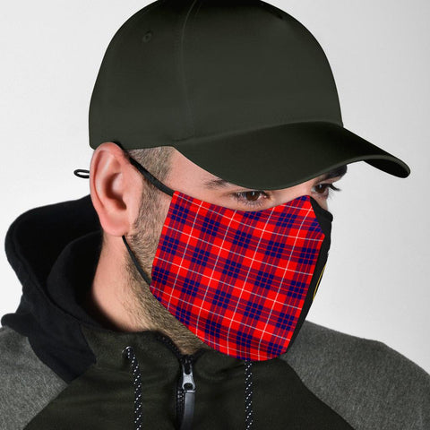 Image of Hamilton Modern  Tartan Mouth Mask The Half Th88
