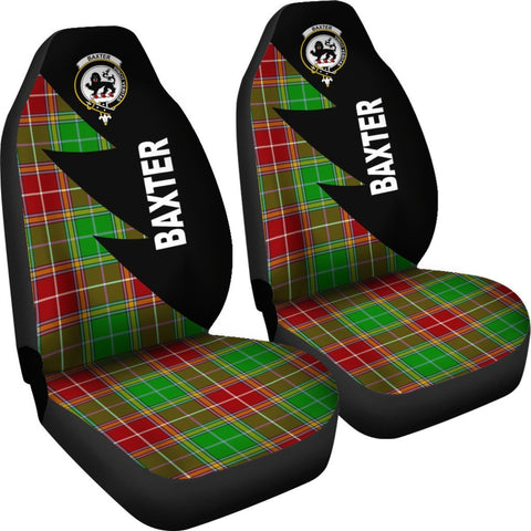 Image of Baxter Clans Tartan Car Seat Covers - Flash Style - BN
