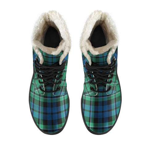 Image of Maccallum Ancient Tartan Boots For Men