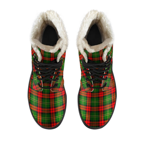 Blackstock Tartan Boots For Men