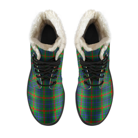 Image of Aiton Tartan Boots For Men