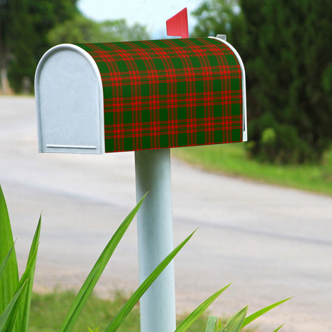 Menzies Green Modern Scotland Mailbox Clan A91