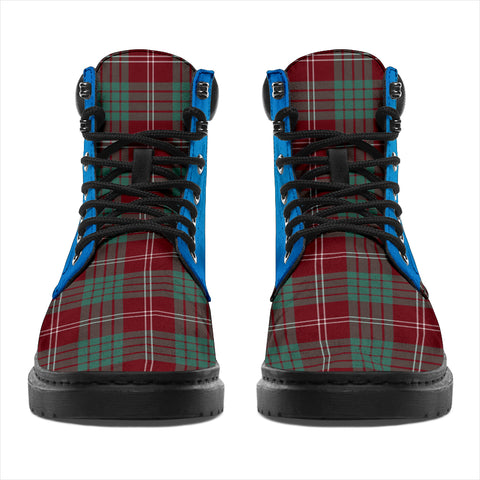 Image of Crawford Modern Tartan All-Season Boots - Celtic Thistle TH8