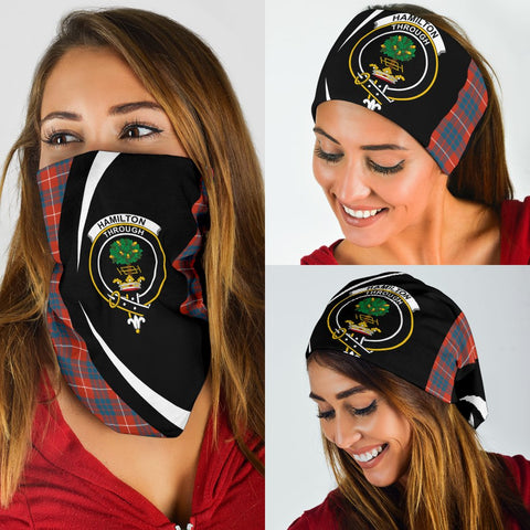 Image of Hamilton Ancient Tartan Bandana Circle Hj4