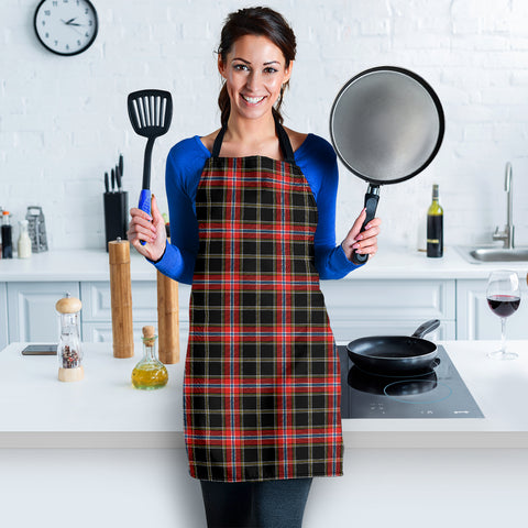 Norwegian Night Tartan Apron HJ4