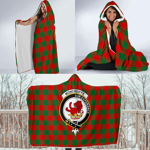 Image of Moncrieffe Clans Tartan Hooded Blanket - BN