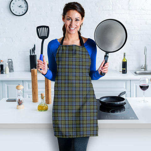 Image of Campbell Faded Tartan Apron HJ4