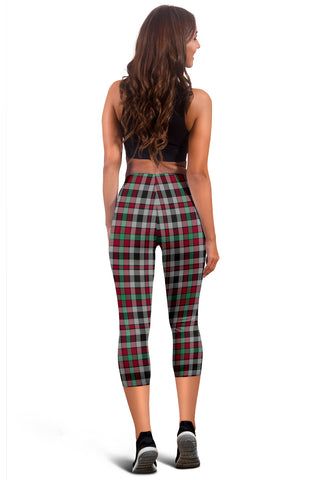 Borthwick Ancient Tartan Capris Leggings