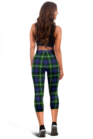 Image of Baillie Modern Tartan Capris Leggings