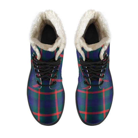 Agnew Modern Tartan Boots For Men