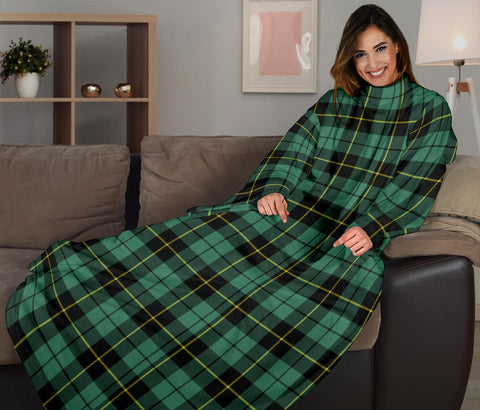 Wallace Hunting Ancient Tartan Clans Sleeve Blanket K6
