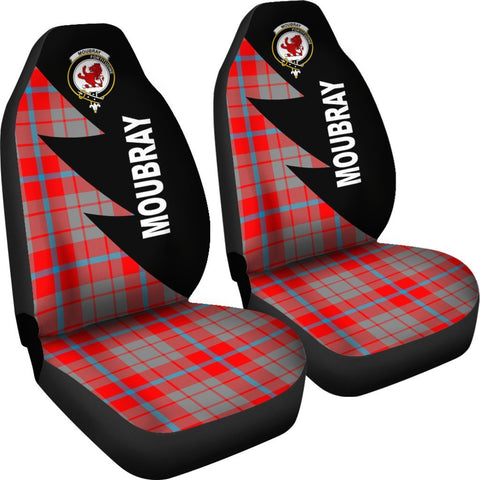 Image of Moubray Clans Tartan Car Seat Covers - Flash Style - BN
