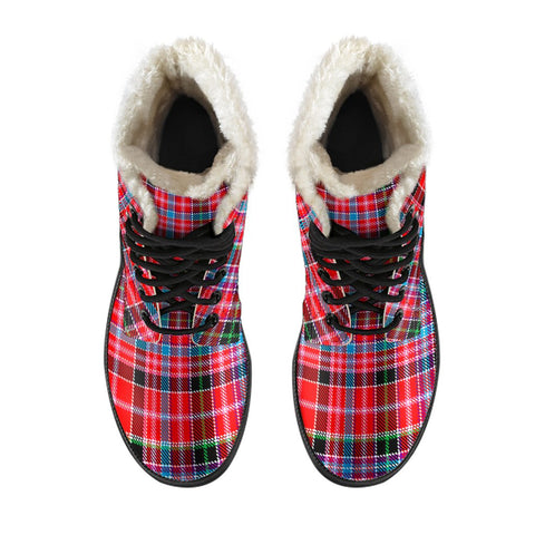 Image of Aberdeen District Tartan Boots For Men
