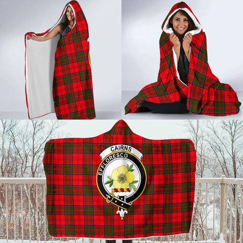Cairns Clans Tartan Hooded Blanket - BN