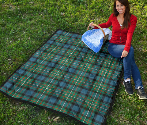 Image of FERGUSON ANCIENT Tartan Premium Quilt TH8