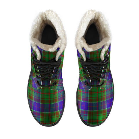 Image of Adam Tartan Boots For Men