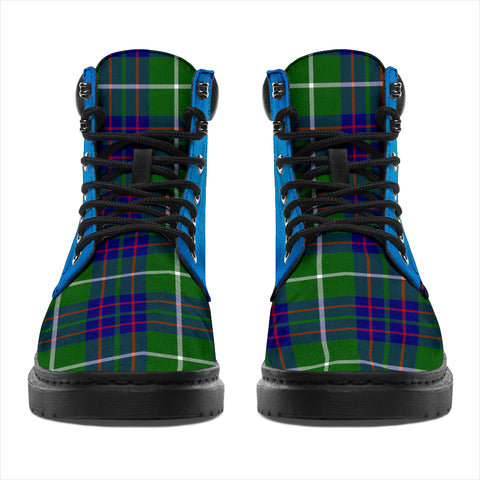 Image of Macintyre Hunting Modern Tartan All-Season Boots - Celtic Thistle TH8