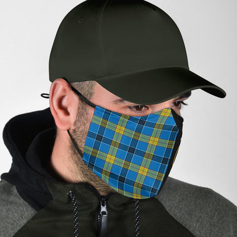 Laing  Tartan Mouth Mask The Half Th88