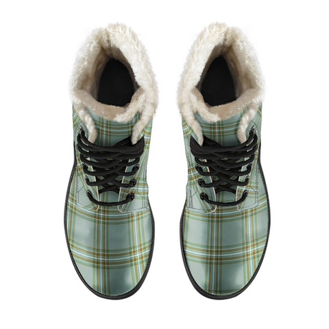 Image of Kelly Dress Tartan Boots For Men