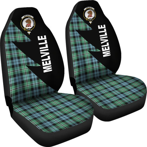 Melville Clans Tartan Car Seat Covers - Flash Style - BN