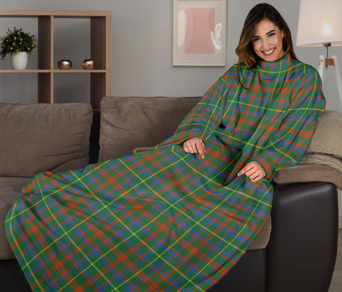 Image of MacKintosh Hunting Ancient Tartan Clans Sleeve Blanket K6