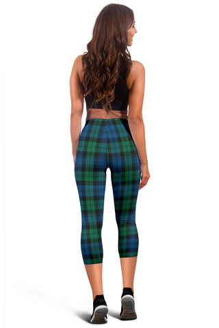 Blackwatch Ancient Tartan Capris Leggings