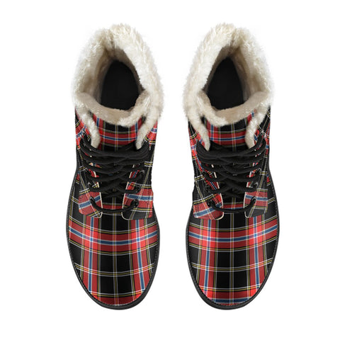 Norwegian Night Tartan Boots For Men