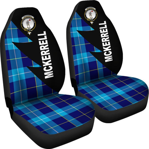 Image of McKerrell Clans Tartan Car Seat Covers - Flash Style - BN