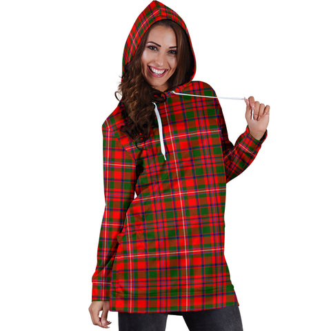 MacKinnon Modern Tartan Hoodie Dress HJ4